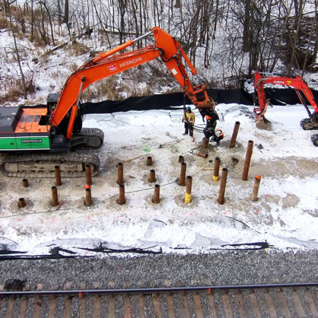 Pile Foundations - Helical Pile